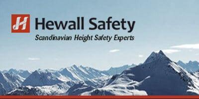 Hewall Safety - Höga höjder för bl.a takläggare